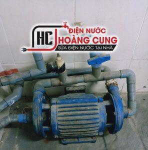 Sửa chữa máy bơm nước Hoàng Cung